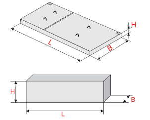 Балки и плиты для установки КТП и КРУН