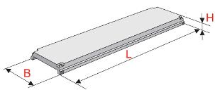 Плиты крупнопанельные напряженные для междуэтажных перекрытий (ПМЖН)