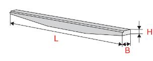 Балки перекрытия напряженные переменной высоты с отогнутой арматурой (СБНОС)