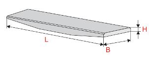 Плиты перекрытия напряжённые переменной высоты с отогнутой арматурой (ПНОС)