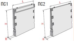 Стеновые панели балочные