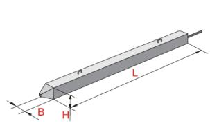 Сваи вибрированные для стальных опор ВЛ 35-500 КВ