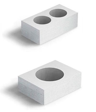 блок вентиляционного канала из газобетона