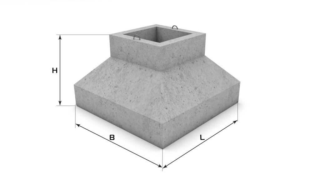 фундаменты стаканного типа
