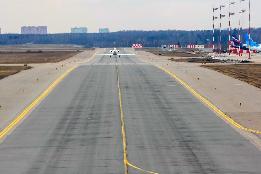 ВПП-3 в аэропорту Шереметьево г. Москва